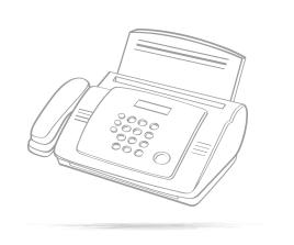 1. Ihre Belege werden per Fax oder Scan übermittelt
